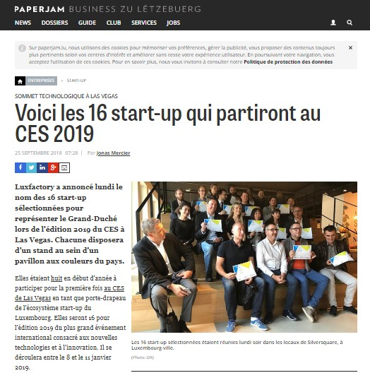 Article de presse Paperjam